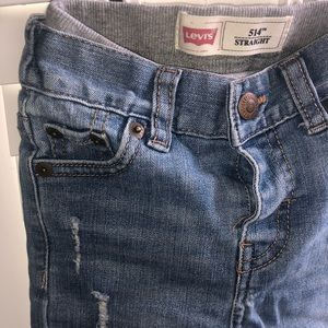 Levi's Bottoms - Levi brand distressed toddler jeans